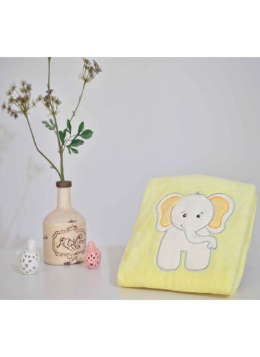 Komfort Home Welsoft Nakışlı Bebek / Çocuk Battaniyesi Renkli